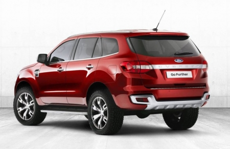 Ford презентовали новый рамный внедорожник Everest